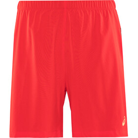 asics 2-N-1 Shorts 7'' Homme, classic red